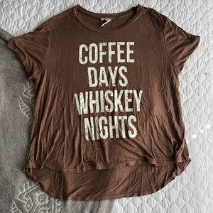 COFFEE DAYS WHISKEY NIGHTS ☕️🥃